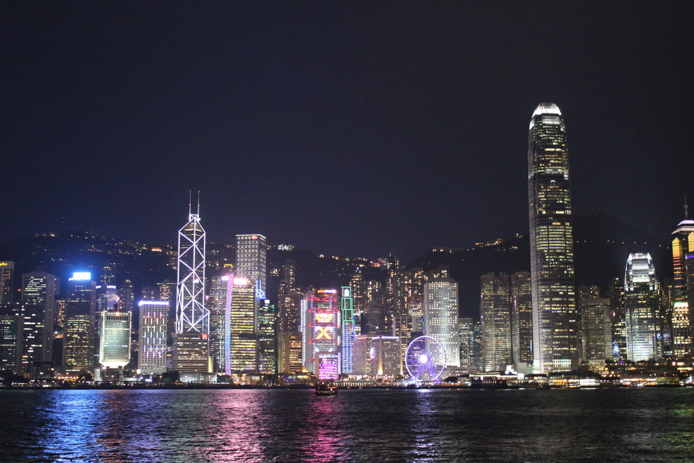 Victoria Harbour – View of Hong Kong Island