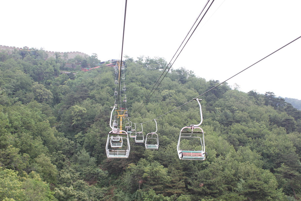 Mutianyu Great Wall – Chairlift