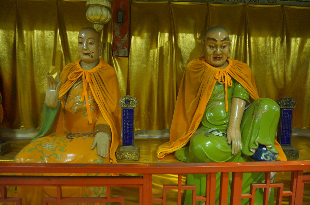 Luohan Holy Land – Buddha statues