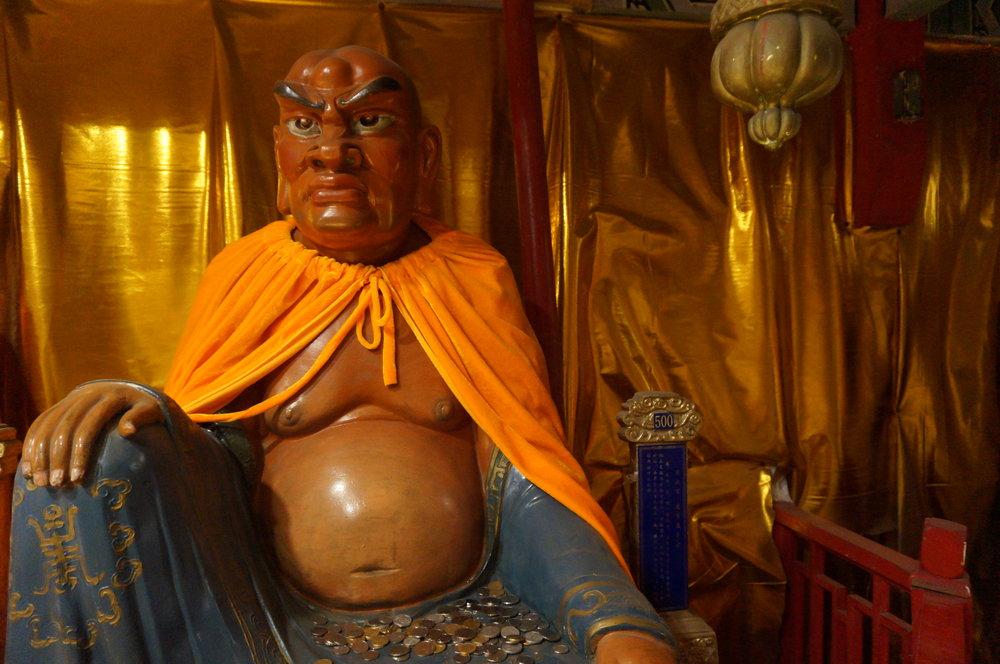 Luohan Holy Land – Buddha statue