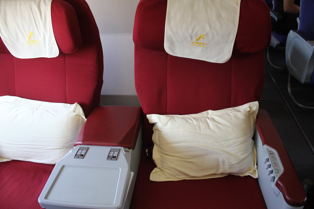 Shenzhen Airlines business class – Seat 2C