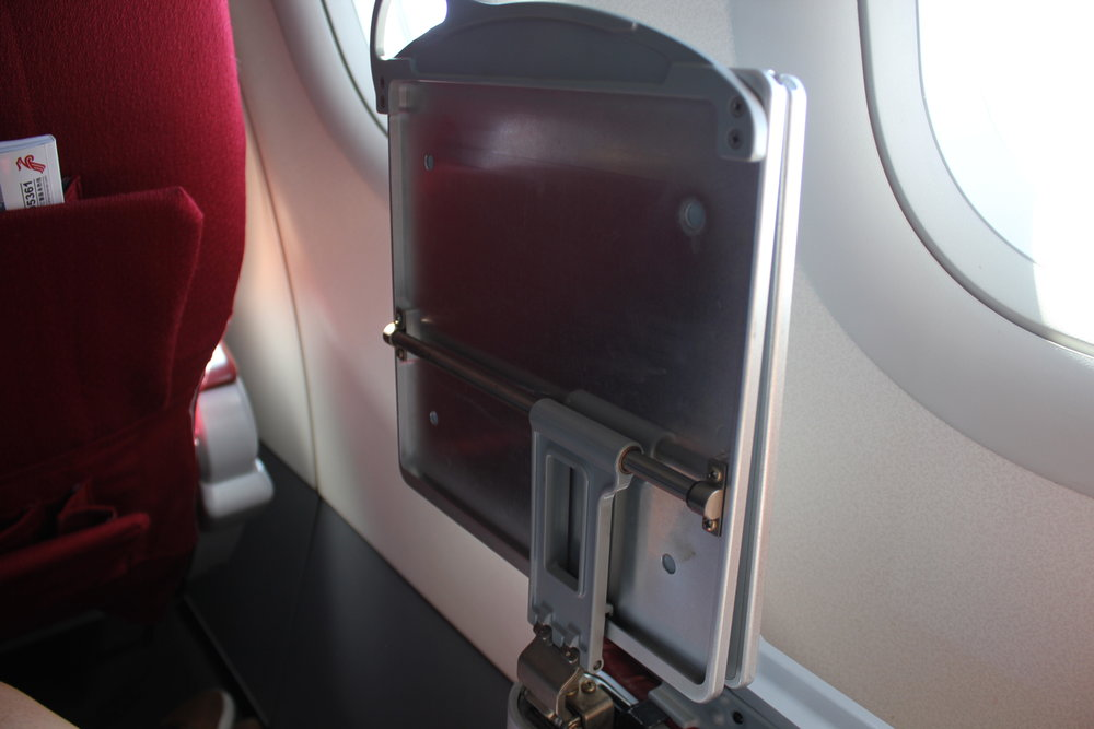Shenzhen Airlines business class – Tray table