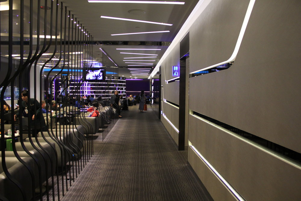 The Infinity Lounge by EVA Air – Hallway