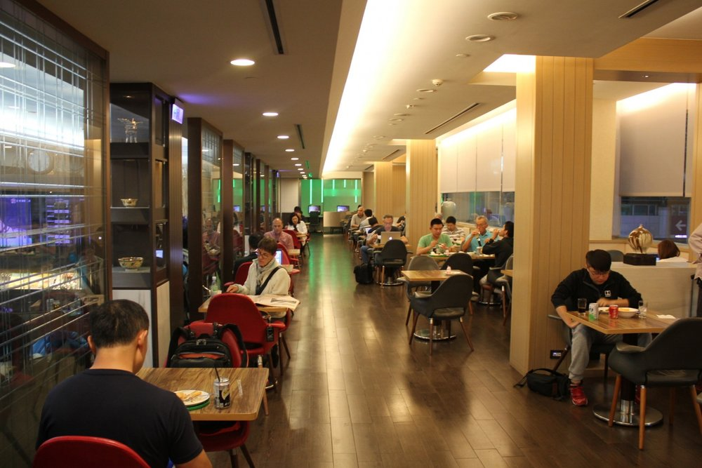 The Star Lounge by EVA Air – Seating area