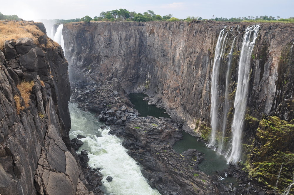 Victoria Falls – Dry season