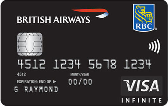 RBC British Airways Visa Infinite| Prince of Travel | Miles & Points