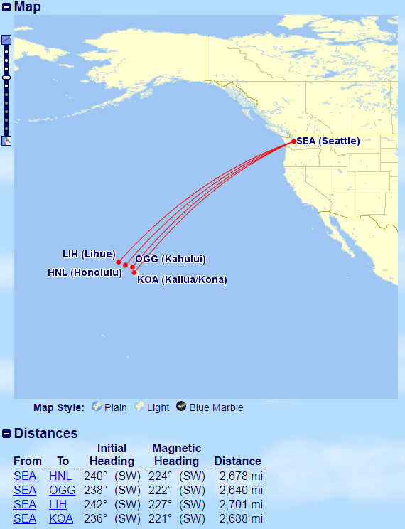 Seattle to Hawaii with Avios | Prince of Travel | Miles & Points