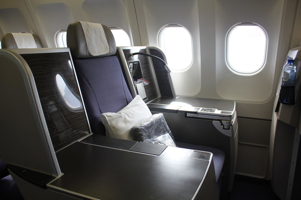 Brussels Airlines Business Class – Throne seat