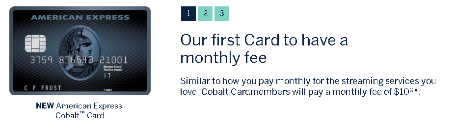 American-Express-Cobalt-Card-Monthly-Fee