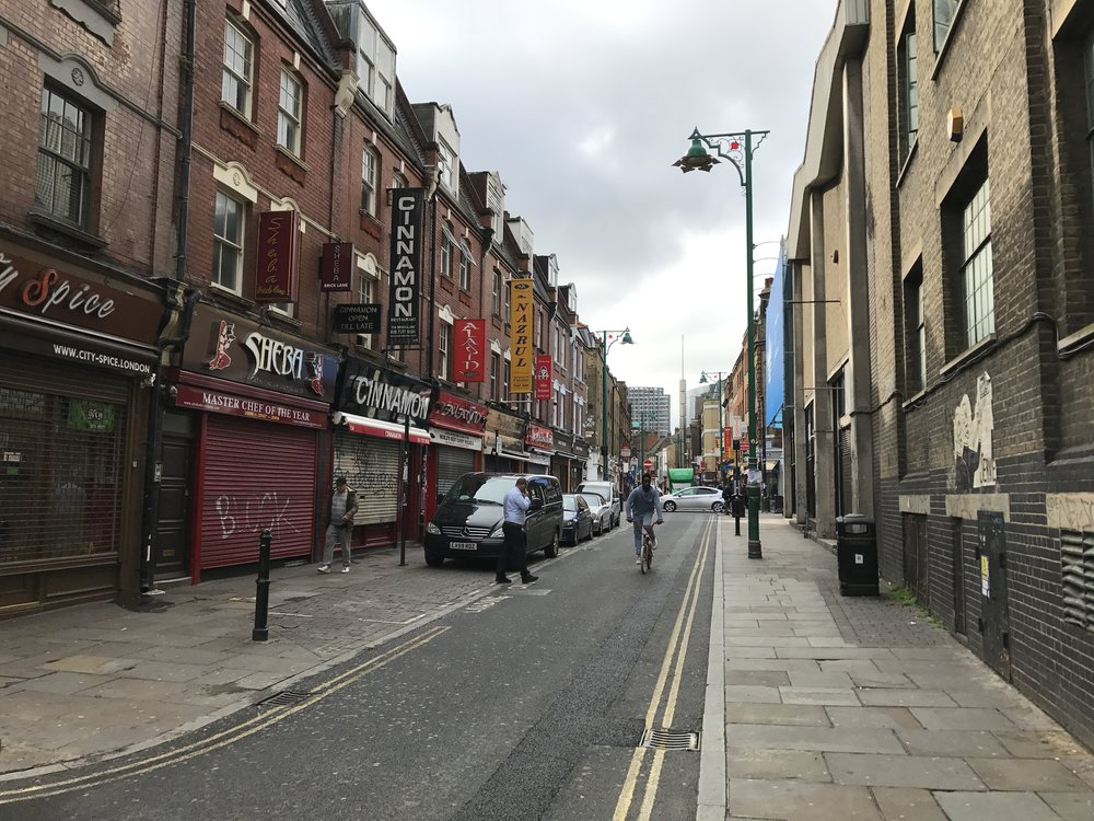 East London – Brick Lane