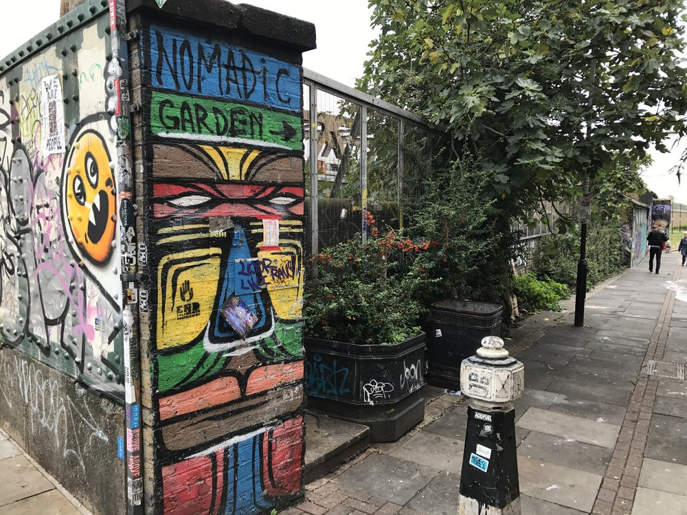 East London – Nomadic Community Garden