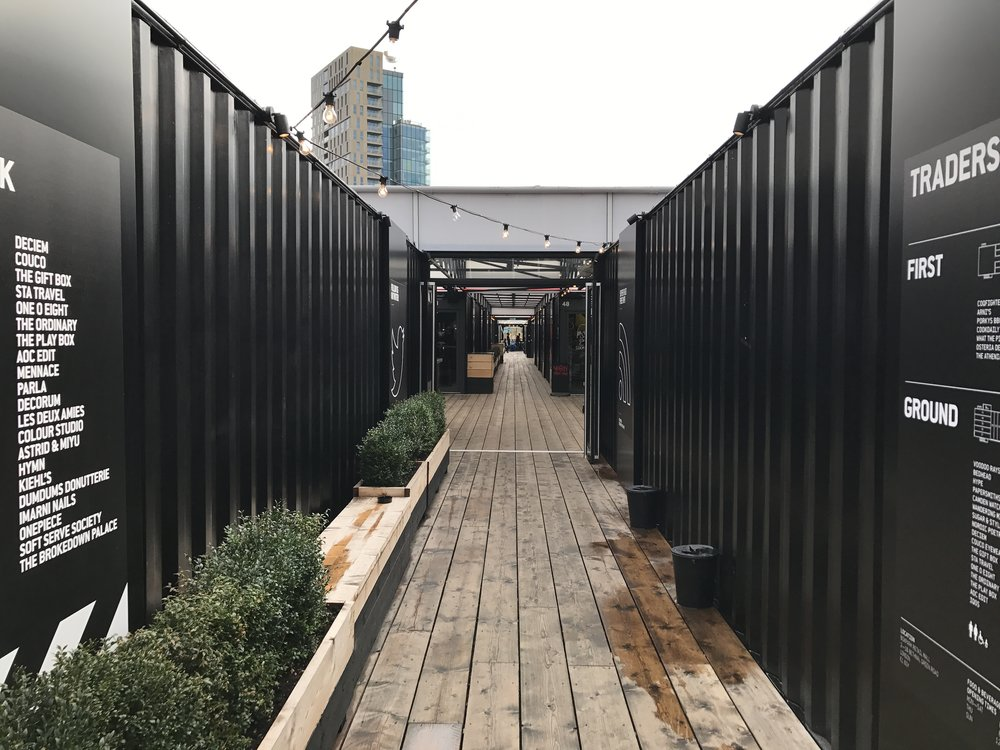 East London – Boxpark Shoreditch