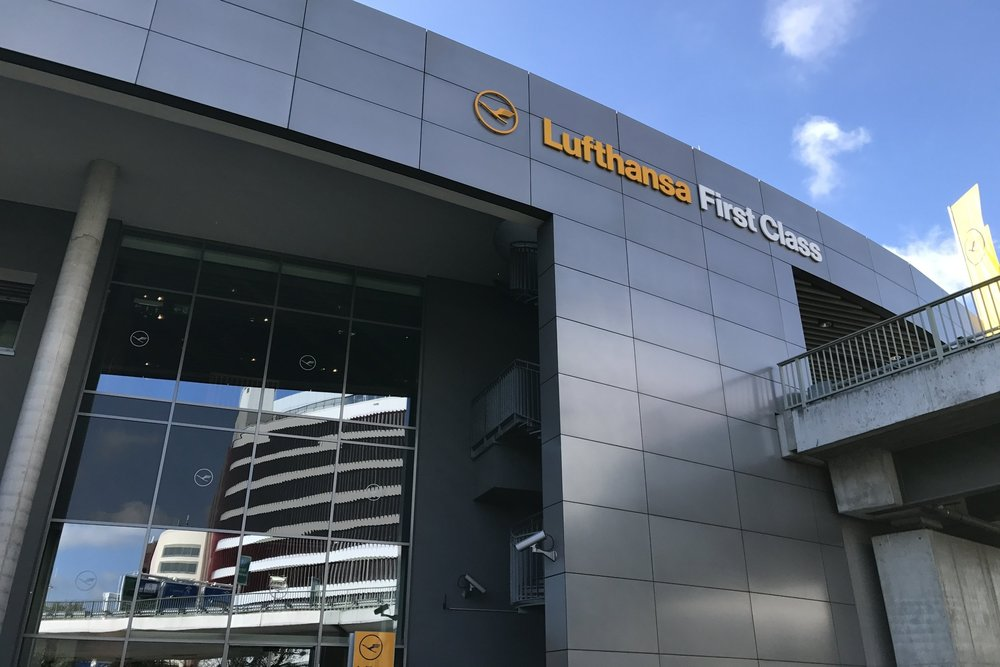 Lufthansa First Class Terminal Frankfurt – Exterior