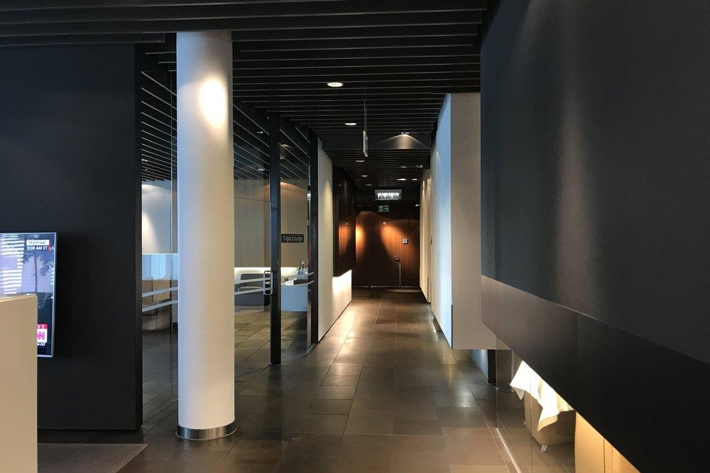 Lufthansa First Class Terminal Frankfurt – Corridor