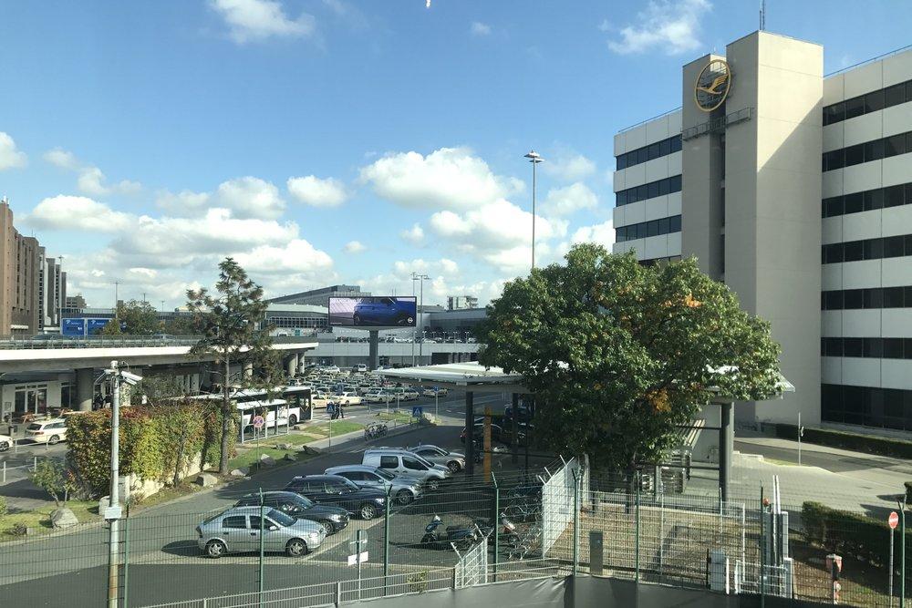 Lufthansa First Class Terminal Frankfurt – View
