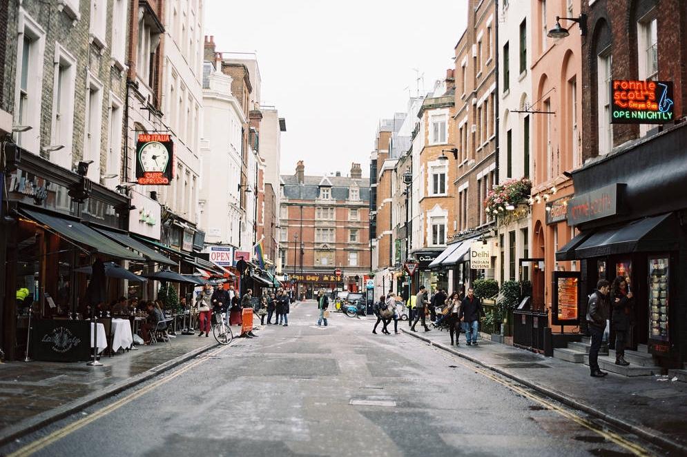 Soho, Central London
