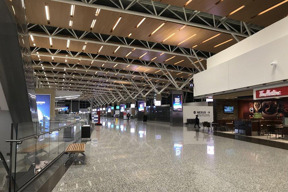 Calgary International Airport – International departures