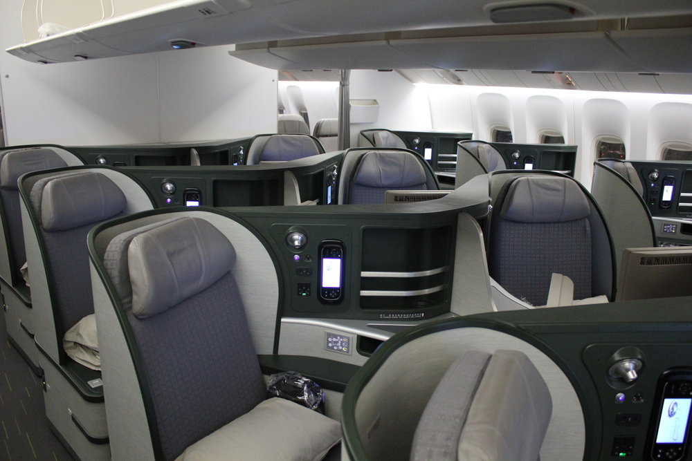 EVA Air business class