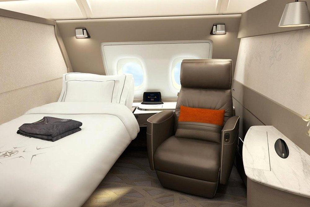 Singapore Airlines New Suites Class