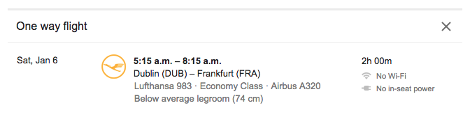 Lufthansa-Flight-Dublin-Frankfurt