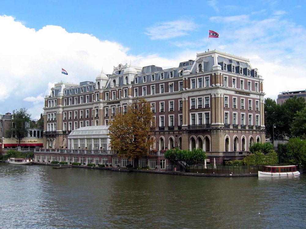 A potential free night at the InterContinental Amstel Amsterdam gone to waste...