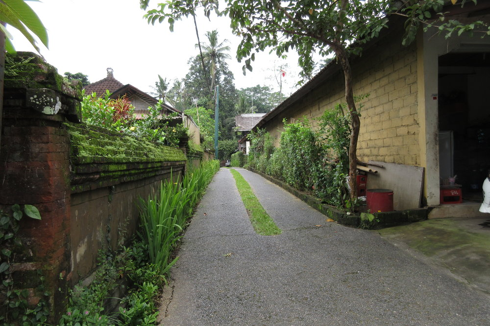 Entryway to Bambu Indah
