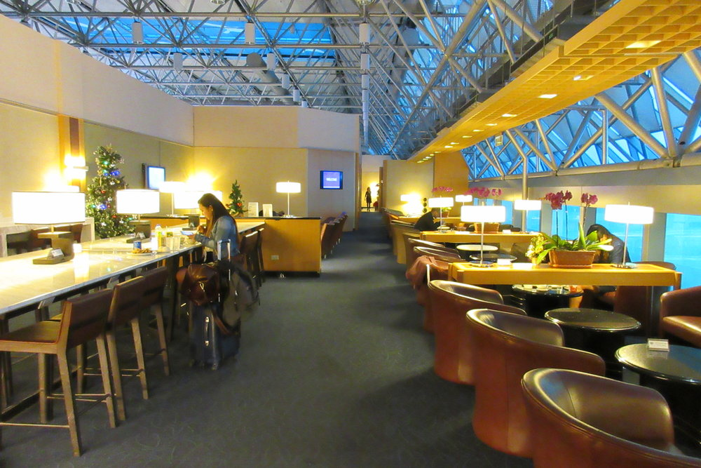 Singapore Airlines SilverKris Lounge Taipei – Interior