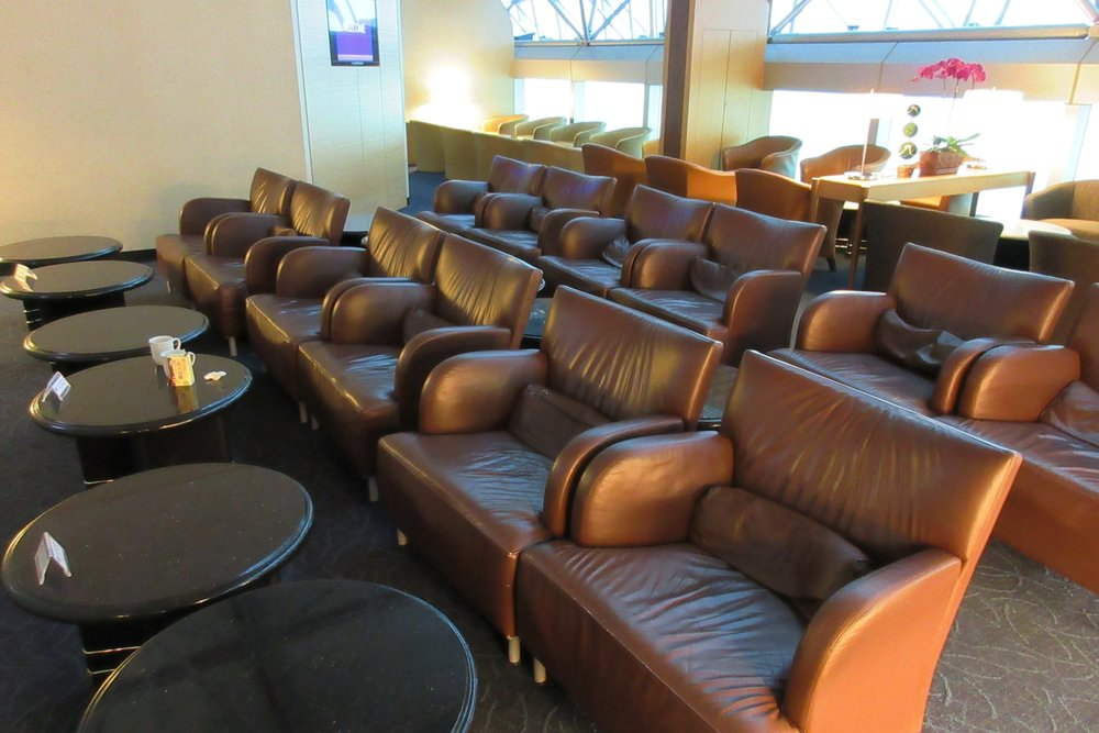 Singapore Airlines SilverKris Lounge Taipei – Seating area
