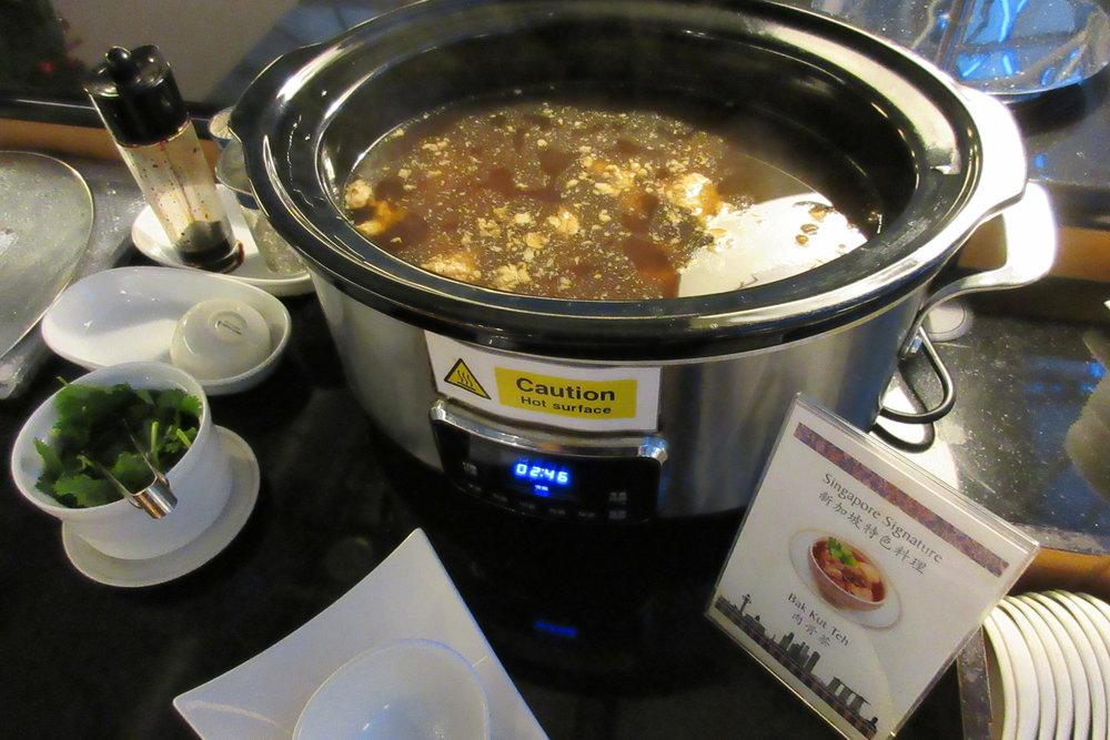 Singapore Airlines SilverKris Lounge Taipei – Bak kut teh