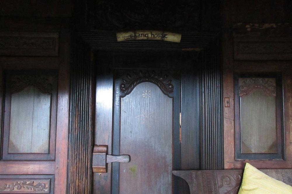 Bambu Indah Ubud – Udang House front door
