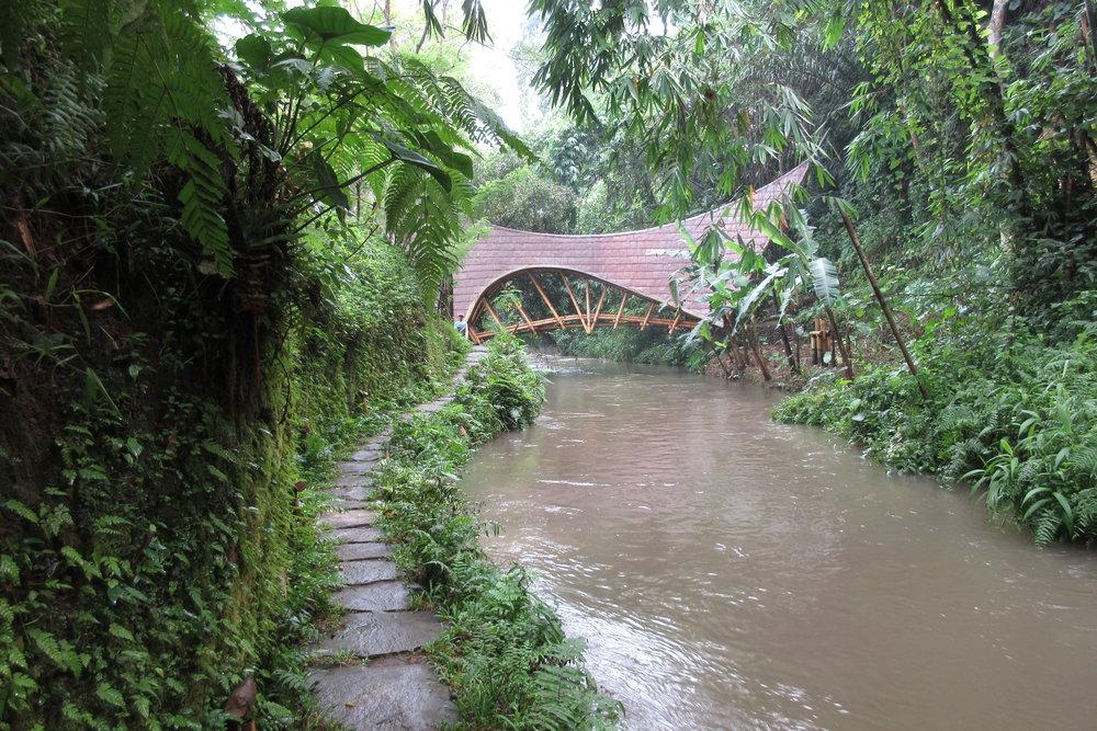 Bambu Indah Ubud – Riverside path