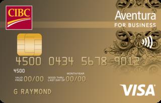 CIBC Aventura Visa Card for Business
