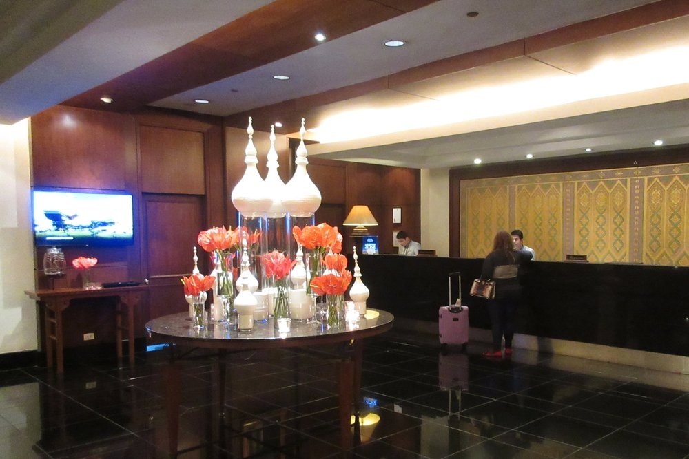 JW Marriott Bangkok – Check-in desk