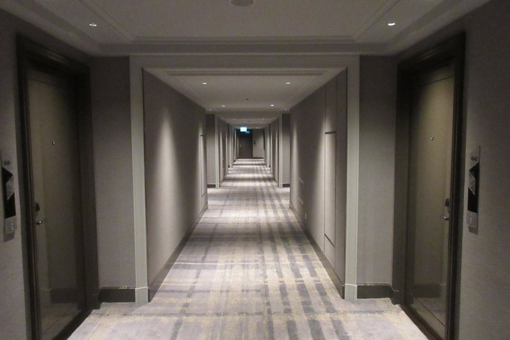 JW Marriott Bangkok – 10th floor hallway