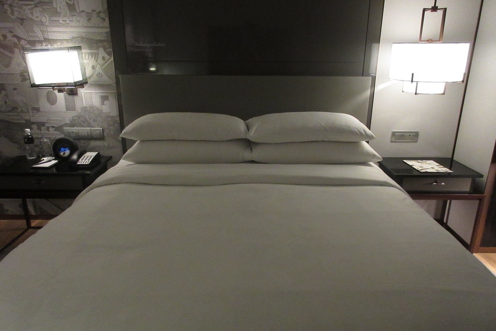 JW Marriott Bangkok – King bed