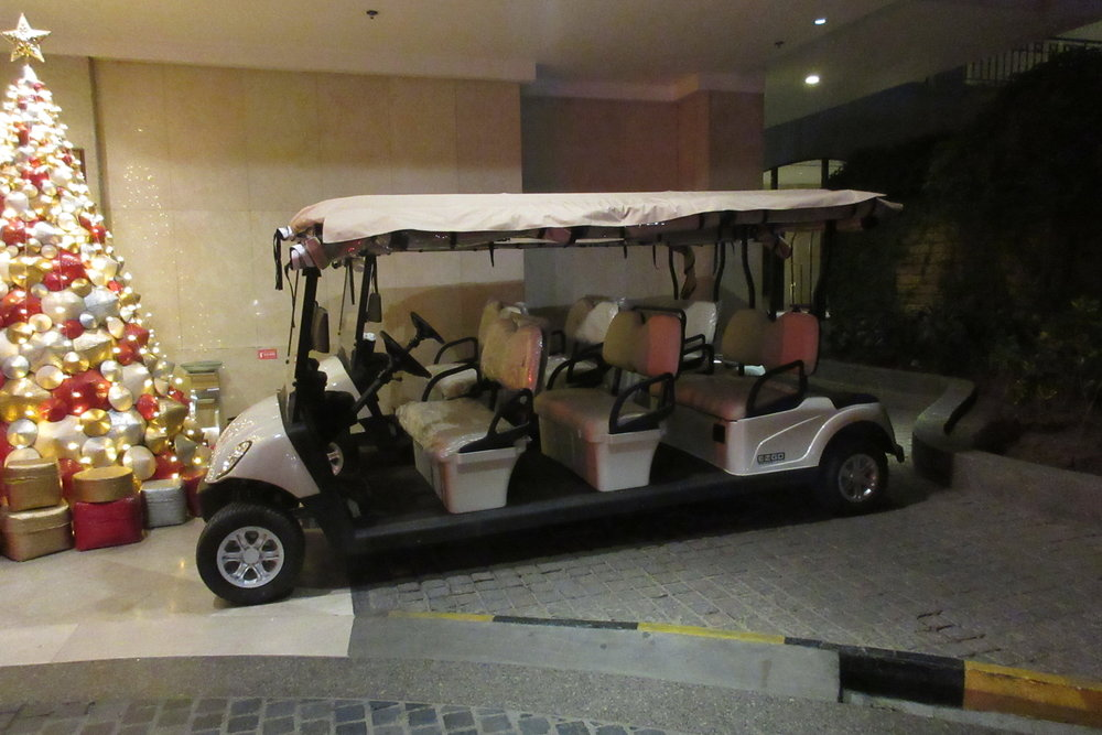 InterContinental Hanoi Westlake – Buggy service