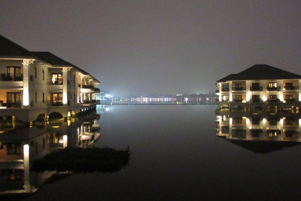 InterContinental Hanoi Westlake – Overwater pavilions