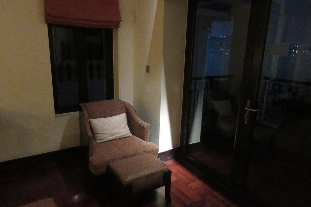 InterContinental Hanoi Westlake – Chair and ottoman
