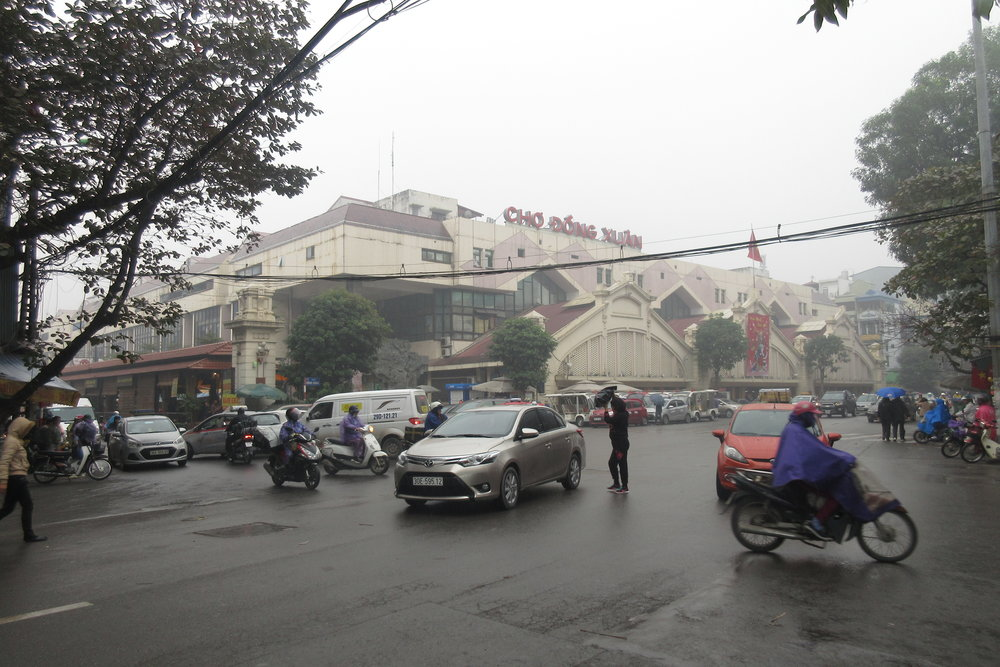 Old Quarter, Hanoi – Dong Xuan Market
