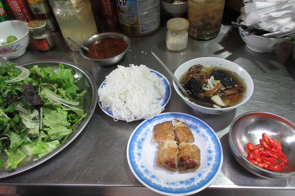 Old Quarter, Hanoi – Bun cha