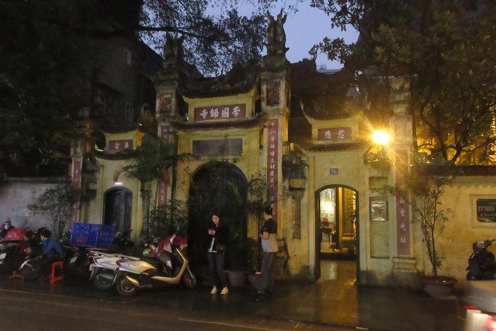 Old Quarter, Hanoi – Ly Trieu Quoc Su Pagoda