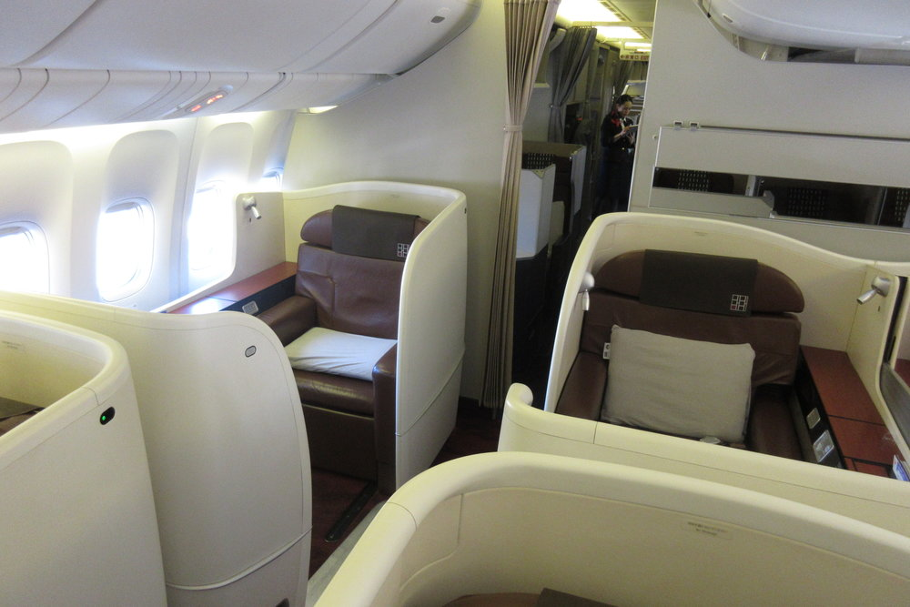 Japan Airlines First Class – Cabin