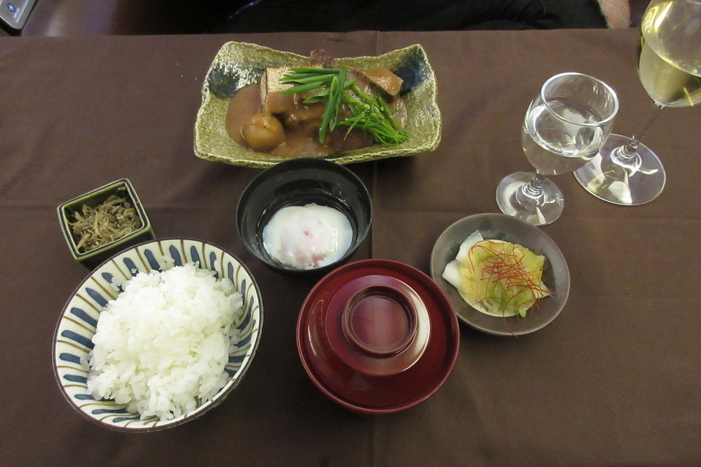 Japan Airlines First Class – Dainomono
