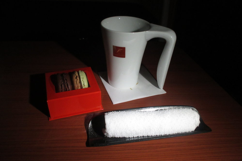 Japan Airlines First Class – Sencha