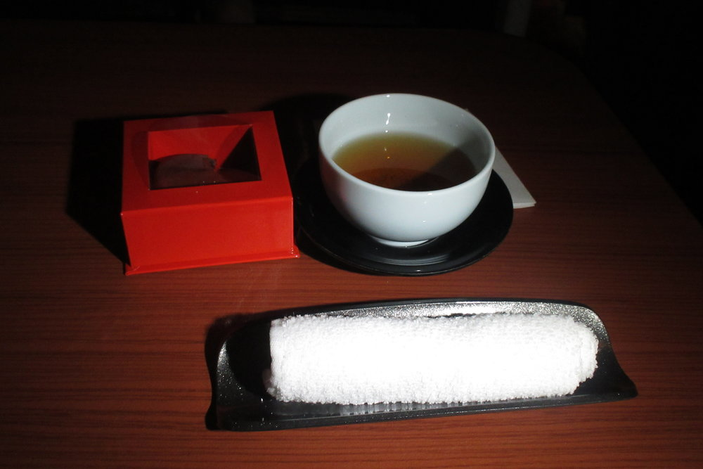Japan Airlines First Class – Houji-cha