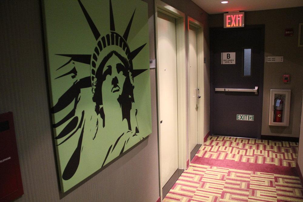 Best Western Premier New York Herald Square – Hallway