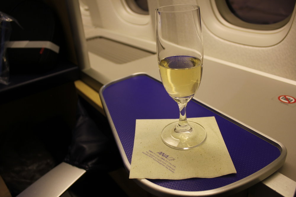 ANA First Class – Krug Grande Cuvée
