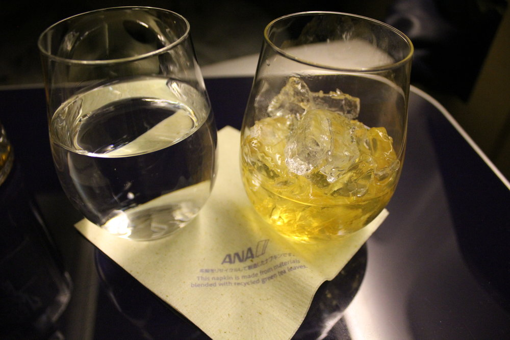 ANA First Class – Hibiki 21 on the rocks
