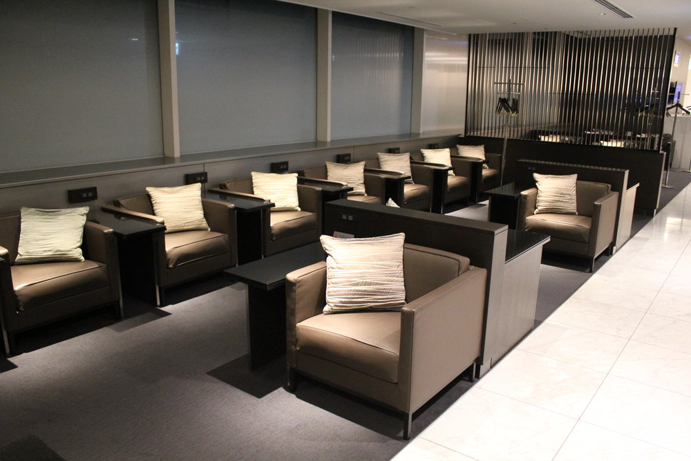 ANA Suite Lounge Tokyo Haneda – Seating