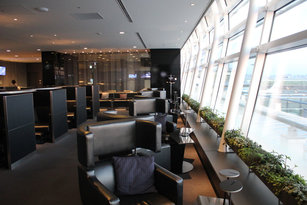 ANA Suite Lounge Tokyo Haneda – Relaxation area